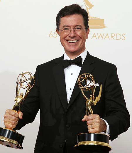 Stephen Colbert. Photo: CNS/Lucy Nicholson, Reuters