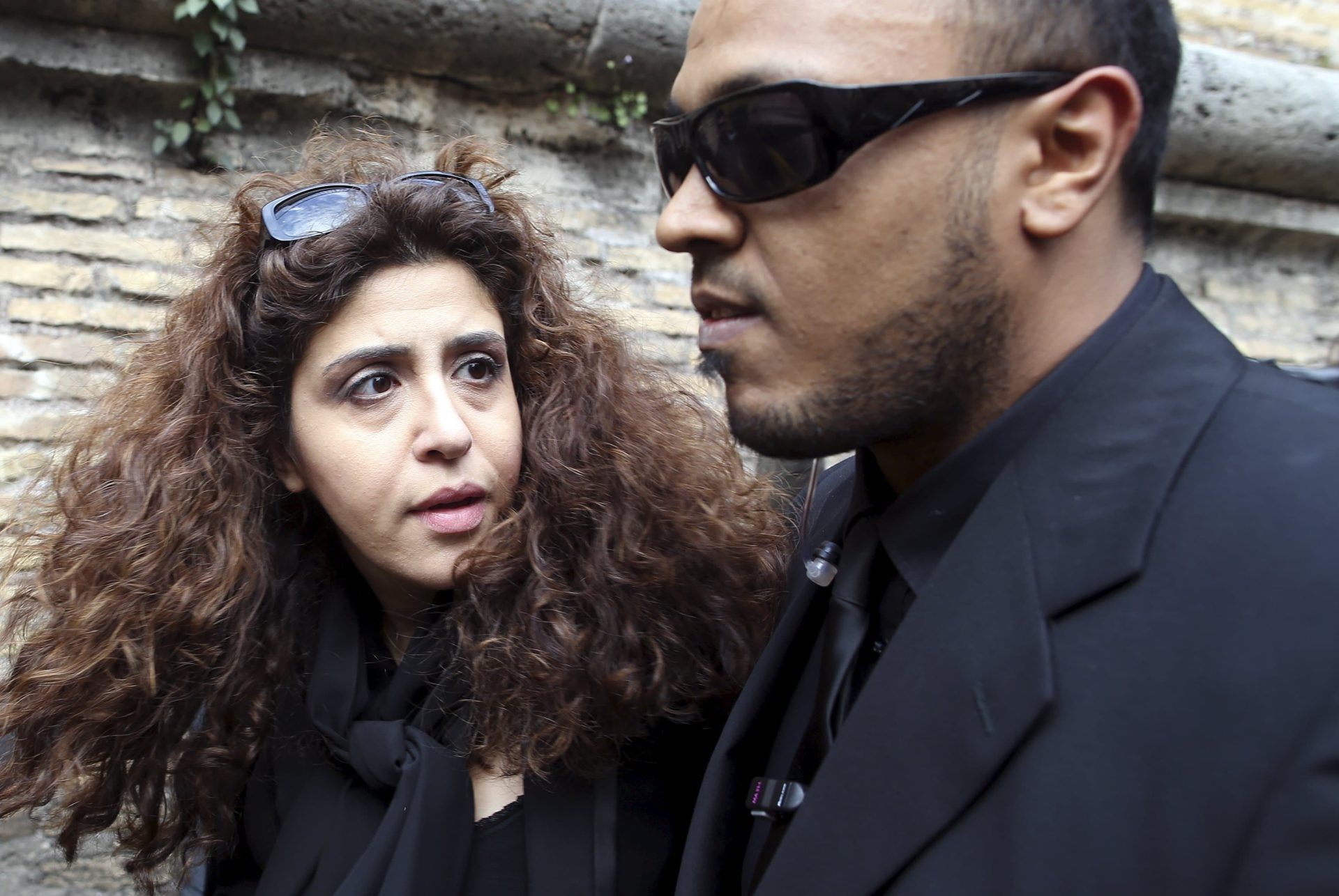Italian laywoman Francesca Chaouqui arrives for the Vatileaks trial at the Vatican on 14 March. Chaouqui is one of five people on trial for leaking confidential Vatican documents that were published in two books. Photo: CNS/Alessandro Bianchi, Reuters