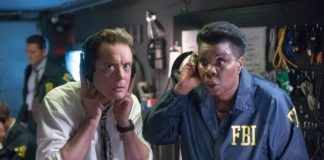Jon Daly and Leslie Jones star in Masterminds.