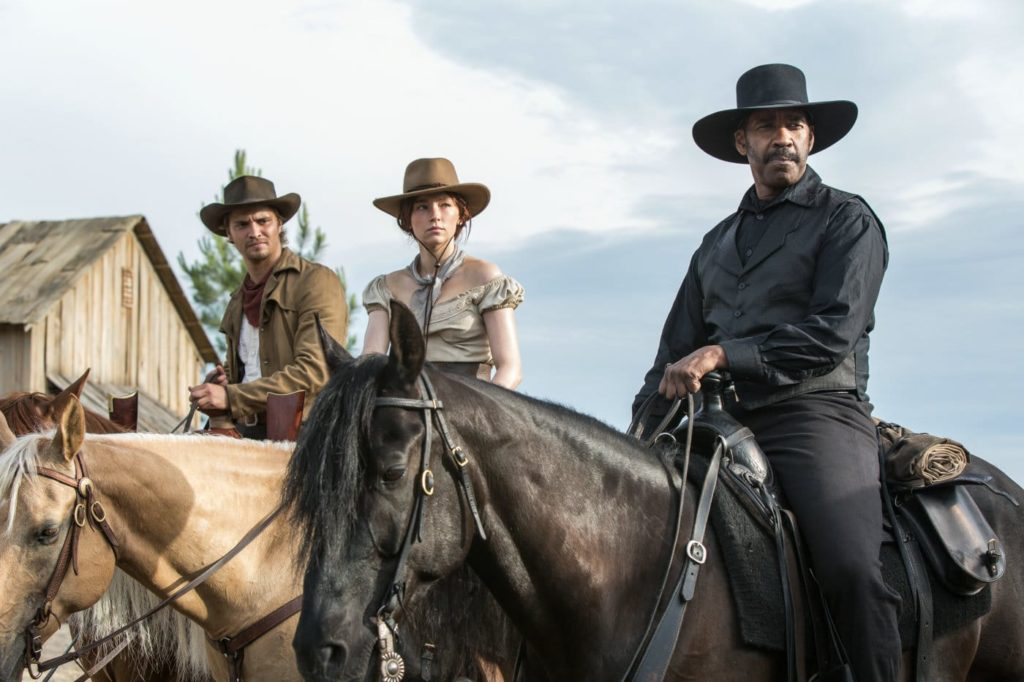 Denzel Washington stars in a remake of The Magnificent Seven