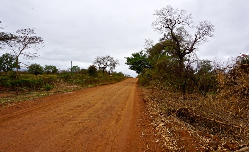 The road  near the village of Tshitanini in Sibasa, Limpopo Province, where Benedict Daswa was martyred for his opposition to witchcraft.