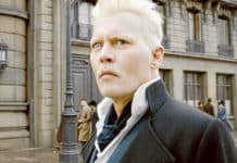 Johnny Depp is the villainous Gellert Grindelwald in Fantastic Beasts: The Crimes of Grindelwald. Photo: CNS photo/Warner Bros.