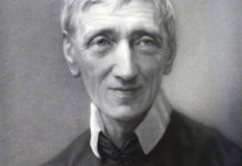 Blessed John Henry Newman is seen in a portrait provided by the Catholic Church in England and Wales. Photo: CNS photo/courtesy of the Catholic Church of England and Wales