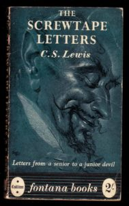 The cover of The Screwtape Letters by C.S. Lewis. Photo: DaveBleasdale/Flickr, CC BY 2.0