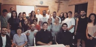 More than 25 young adults from across Sydney gathered at the St Felix de Valois in Bankstown for the catechesis entitled Pressing the restart on the prayer life, with Our Lady Star of the Sea assistant priest, Father Daniel McCaughan. Photo: St Felix de Valois Bankstown