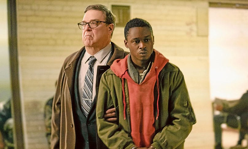 The aliens won: John Goodman and Ashton Sanders star in a scene from Captive State.Photo: CNS photo/Focus Features