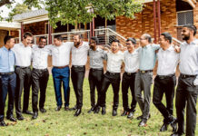 The 2019 first year students at the Good Shepherd Seminary at Homebush. Photo: Alphonsus Fok