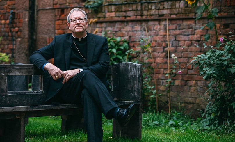 Los Angeles Auxiliary Bishop Robert Barron. Photo: CNS photo/courtesy Word on Fire