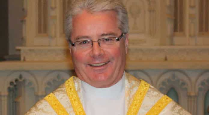 Monsignor Carl Reid, the new head of Australia's Ordinariate of Our Lady of the Southern Cross.