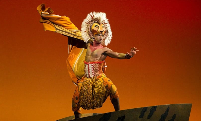 Dashaun Young plays Simba in the Broadway Musical adaptation of The Lion King. Photo: Barne227/Wikimedia Commons, CC BY-SA 4.0
