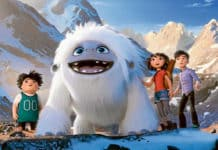 Yi, voiced by Chloe Bennet, appears alongside her furry friend in Abominable. Photo: CNS/Universal