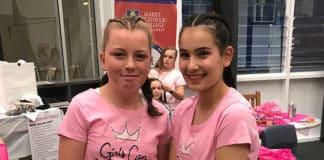 The events during the day included 'pink stumps' a game of cricket at lunch time inspired by the McGrath Foundation, founded by cricketer Glenn McGrath who lost his first wife to breast cancer in 2008.