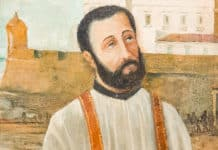 Portrait of Saint Peter Claver in Cartagena, Colombia. Image: Mill 1/Wikimedia Commons, CC BY-SA 4.0