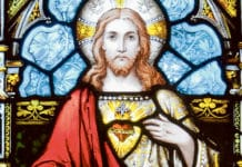 Good intentions in art: the Sacred Heart of Jesus. Photo: Wikimedia Commons