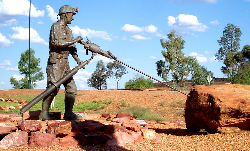 The Miners Heritage Park which commemorates the lives of 120 men who lost their lives in the Cobar Mines 1870 – 2000. Photo: Amanda Slater/Flickr, CC BY-SA 2.0